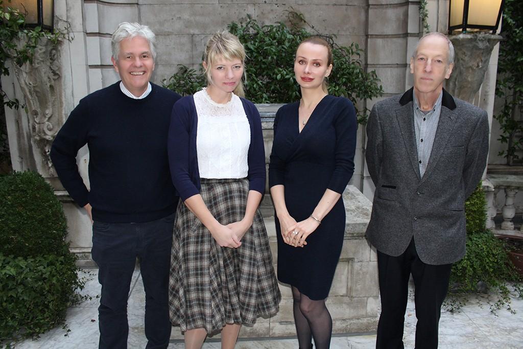 Left to Right: Bob Duffield, Dr Donna Youngs, Maria Shendareva and Professor David Canter
